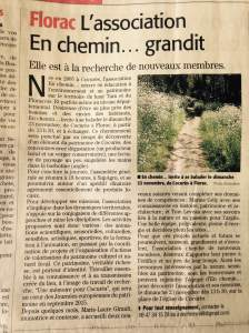 Article Midi Libre