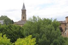Clocher de l'église - Florac