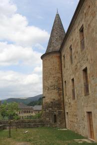 Château de Florac - siège du Parc national des Cévennes